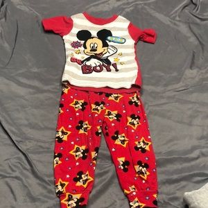 Disney Mickey Mouse pjs, 24m